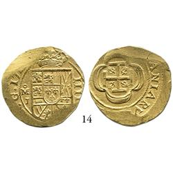 Mexico City, Mexico, cob 4 escudos, 171(4)J.