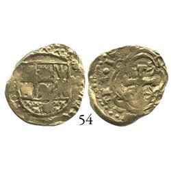 Bogotá, Colombia, cob 2 escudos, 1736M.