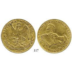 Durango, Mexico, 8 escudos, 1834RM.