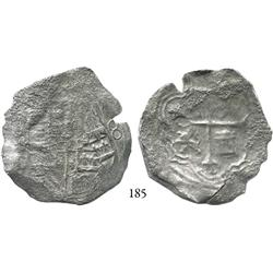 Mexico City, Mexico, cob 8 reales, Philip III, (oM)D, Grade 1 (Grade-2 quality).