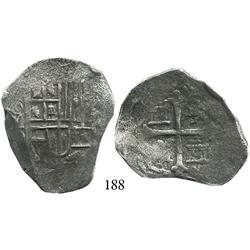 Mexico City, Mexico, cob 4 reales, Philip III, oMD, Grade 2.