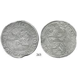 """Gelderland, United Netherlands, """"lion"""" daalder, 1611."""