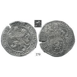 """Holland, United Netherlands, """"lion"""" daalder, 1625/4, rare."""