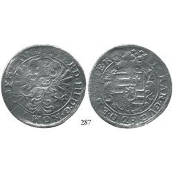 Emden, Germany (Holy Roman Empire), 28 stuber (2/3 thaler), Ferdinand III (1637-57).