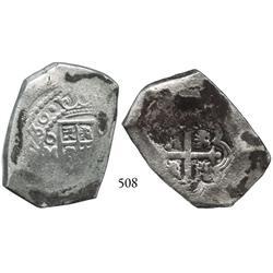 Mexico City, Mexico, cob 8 reales, (1)730(R).