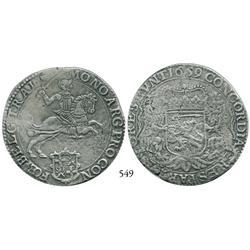 "Utrecht, United Netherlands, ""rider"" ducatoon, 1659."