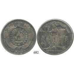 Honduras, peso, 1887.