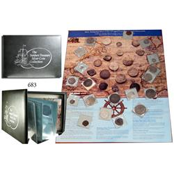 Calhoun Collector's Society boxed set of shipwreck coins (instant collection!).