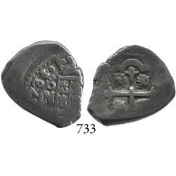 Mexico City, Mexico, cob 2 reales, 1731/0F.