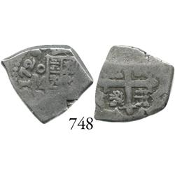 Mexico City, Mexico, cob 1 real, 1729R.