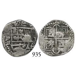 Potosí, Bolivia, cob 1 real, Philip III, P-R, nice.