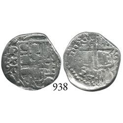 Potosí, Bolivia, cob 1 real, Philip III, P+T.