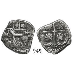 Potosí, Bolivia, cob 1 real, Philip IV, P-TR (large).