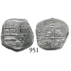 Potosí, Bolivia, cob 1 real, 164(?)T.