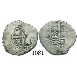 Potosí, Bolivia, cob 1 real, 1660E.