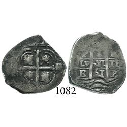 Potosí, Bolivia, cob 1 real, 1661E.