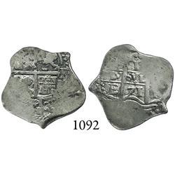 Potosí, Bolivia, cob 1 real, 1671E.