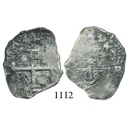 Potosí, Bolivia, cob 1 real, 1687VR.