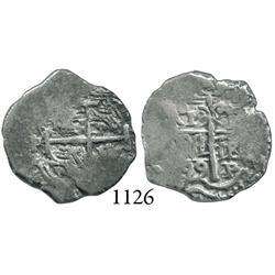 Potosí, Bolivia, cob 1 real, 1699F.