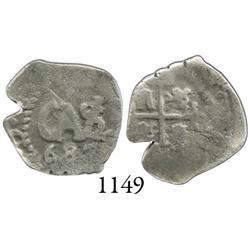 Potosí, Bolivia, cob 1/2 real, 1687.