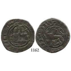 Santo Domingo, Dominican Republic, copper 4 maravedís, Charles I (1558-1564), mintmark S-P, assayer