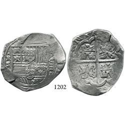 Seville, Spain, cob 8 reales, 163(?)R.