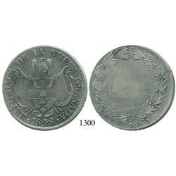 Bogotá, Colombia, 10 reales, 1848.