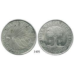 Guatemala, Central American Republic, 8 reales, 1825M.