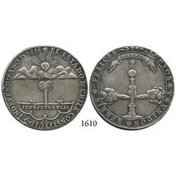 Chile (Republic), silver independence proclamation medal, 1818.