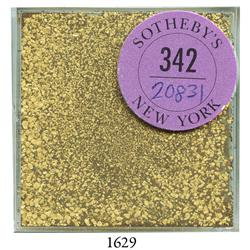 Lot of gold dust from the S.S. Central America (1857), approx. 20 grams.