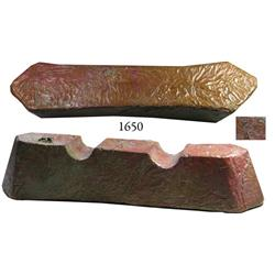 Well-molded copper ingot from the Benamain (1890), 14 lb av.