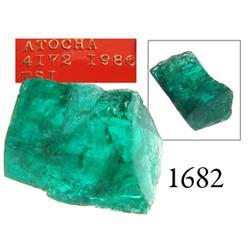High-quality natural emerald, 2.98 carats.