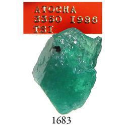 Natural emerald, 1.95 carats.