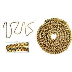 """Gold """"olive blossom"""" chain. (1715 Fleet)"""