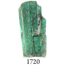 Natural emerald, 2.55 carats.