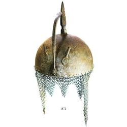 Indo-Persian kulah khud (spiked helmet), mid-1800s.