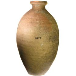 Earthenware jar (tinaja), 1540s, with mark near lip, rare and important provenance.