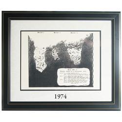 Framed Concepcion print #1 (reprint of Duke Long 1983 original), very rare.
