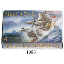 """Fleet 1715"" card game by Clicker Spiele (Germany)."
