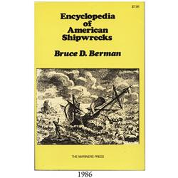 Berman, Bruce. Encyclopedia of American Shipwrecks (1971).