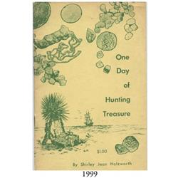Holzworth, Shirley Jean. One Day of Hunting Treasure (1965), scarce, autographed by author and her h