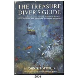 Potter, John. The Treasure Diver's Guide (1st ed., 1960), autographed by the author.