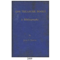 Rascoe, Jesse. 1200 Treasure Books (1970).