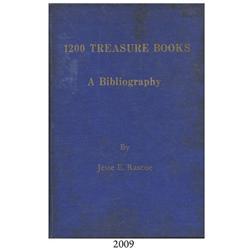 Rascoe, Jesse. 1200 Treasure Books (1970).