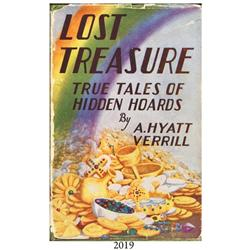 Verrill, A. Hyatt. Lost Treasure--True Tales of Hidden Hoards (1930).