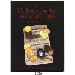 Bowers & Merena (Los Angeles). The S.S. Brother Jonathan Treasure Coins (May 19, 1999), with Prices