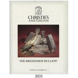 Christie's (Amsterdam). The Bredenhof Bullion (December 4, 1986), with prices realized.