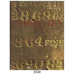 Christie's in association with Spink (New York). Gold Rush Treasures from the Central America (Decem