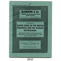 Glendining & Co. (London), Catalogue of Silver Coins of the United Provinces and the Spanish Netherl