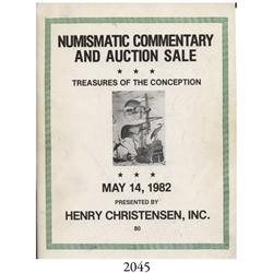 Henry Christensen (Madison, NJ). Treasures of the Conception (May 14, 1982).